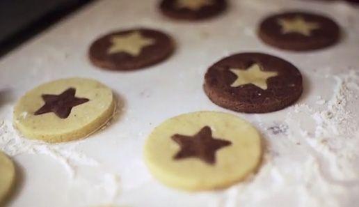 Vanilla Chocolate Christmas Cookies Recipe Chocolate Christmas Cookies Vanilla Chocolate Christmas Cookies