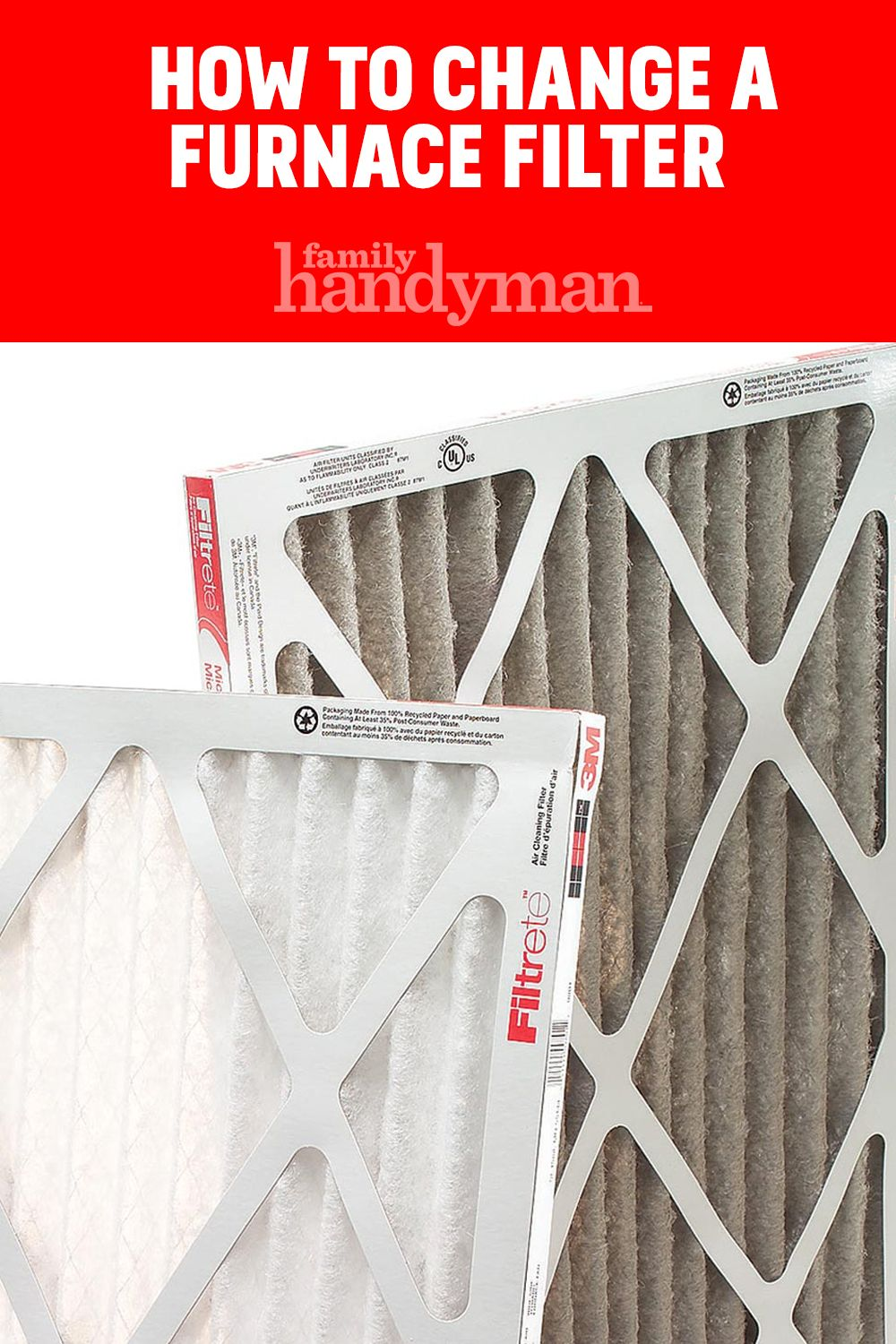 How to Change a Furnace Filter Furnace filters, Furnace