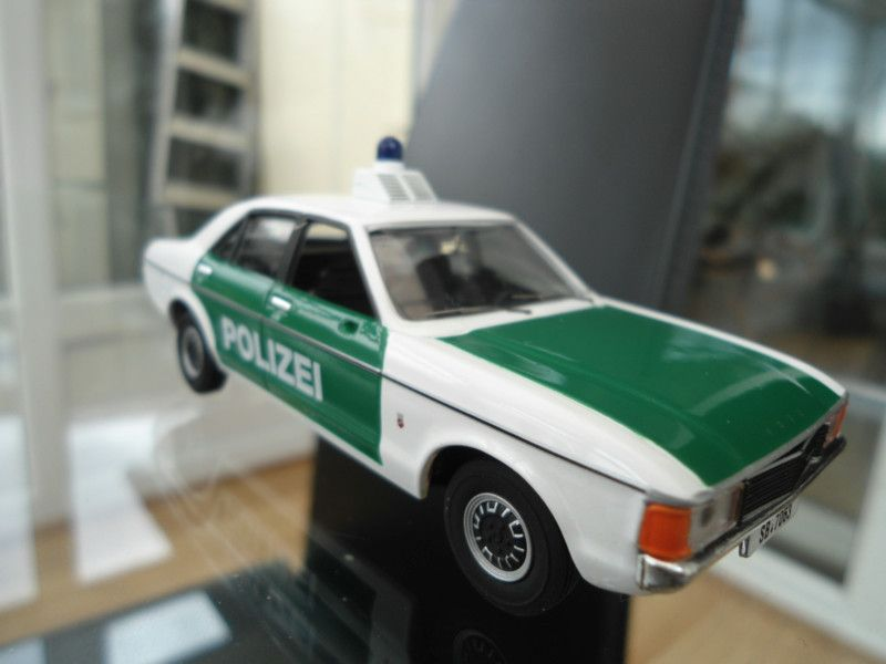 VANGUARDS MK1 FORD GRANADA GERMAN POLICE,ULTRA RARE,MINT IN BOX ...