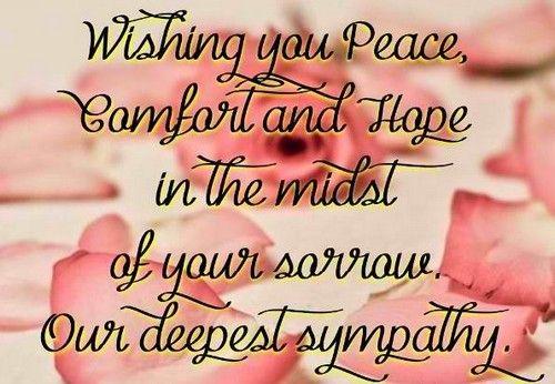 Condolences Quotes Condolence_Quotes1  # Moving On Quotes #  Pinterest  Condolences