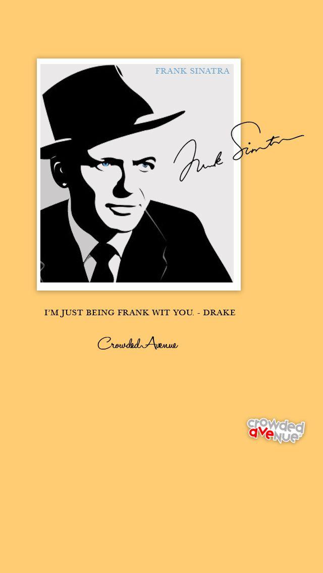 Frank Sinatra iPhone 5 Wallpaper