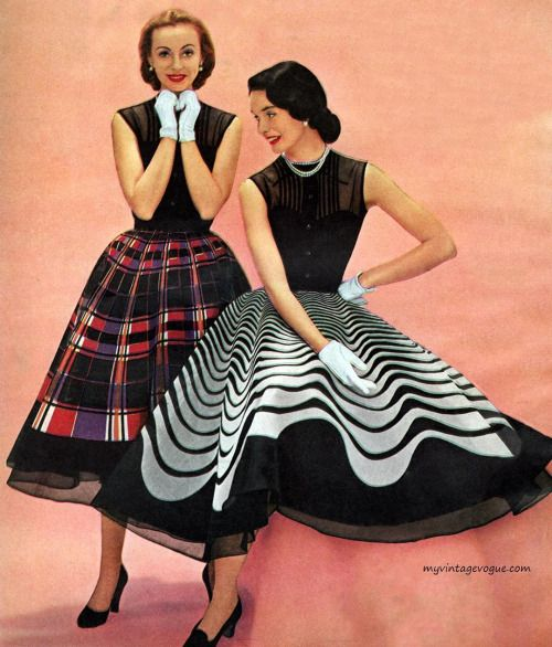 Dresses by Junior Miss of California 1951