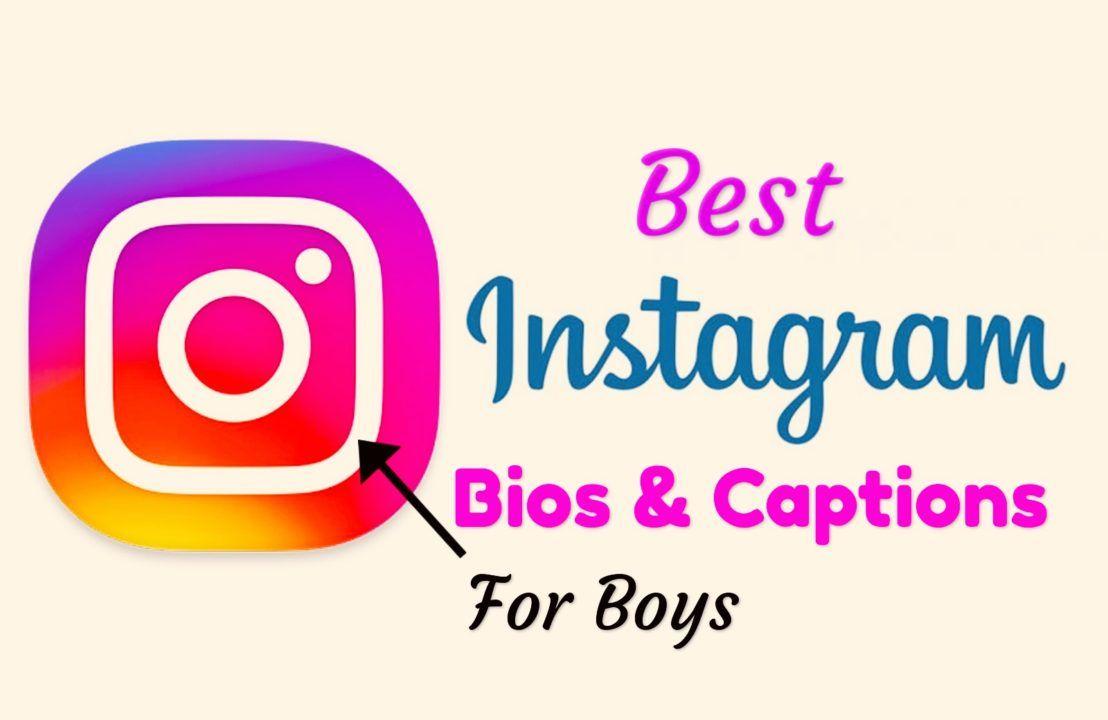 【500+ BEST】 Instagram Bio For Boys Insta bio, Instagram