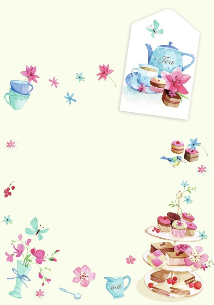 Teacup Invitation are Perfect Template To Make Great Invitations Layout