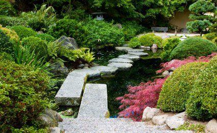 comment cr er un jardin japonais a l ext rieur de la. Black Bedroom Furniture Sets. Home Design Ideas