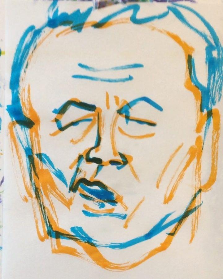 いいね!20件、コメント1件 ― @1mindrawのInstagramアカウント: 「#1mindraw #一分描画 #asoutarou #麻生太郎 #politician #政治家 #19400920 #birthday #誕生日 #portrait #似顔絵 #筆ペン画」