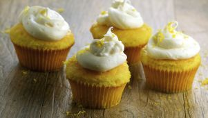 Lemon Cupcakes With Lemon Cream Cheese Frosting Recipe  - Food.com #lemoncreamcheesefrosting