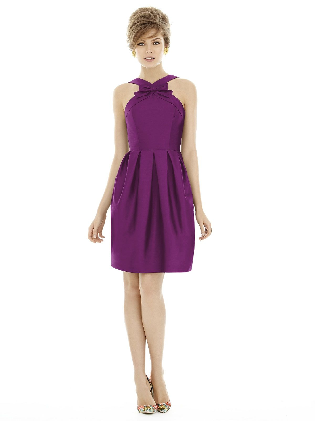 Alfred Sung Style D684 http://www.dessy.com/dresses/bridesmaid/d684 ...