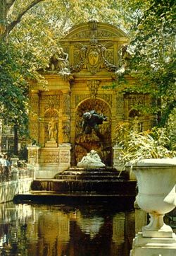 Fontaine de m dicis parc du luxembourg paris travel pinterest jardins nature et fils for Fontaine de jardin nature et decouverte