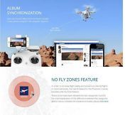 DJI Phantom 2 Vision Plus FPV 5.8G RC Quadcopter Drone Mode2 2 Batteries Camera