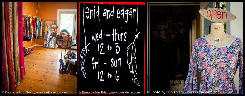 Enid and Edgar, Vintage Clothing, Spring Street, Nevada City, photos by Erin Thiem