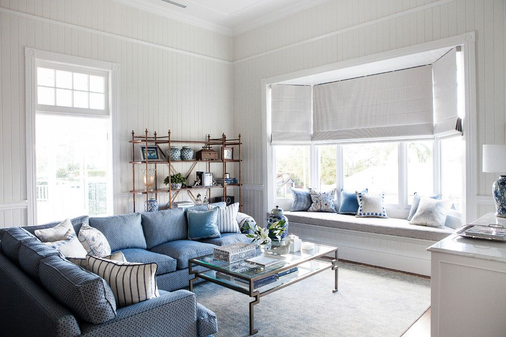 innovative white sitting room furniture top. Blue Window Seat Cushion Living Room Beach Style Decorating Ideas With Glass Top Coffee Table White Innovative Sitting Furniture