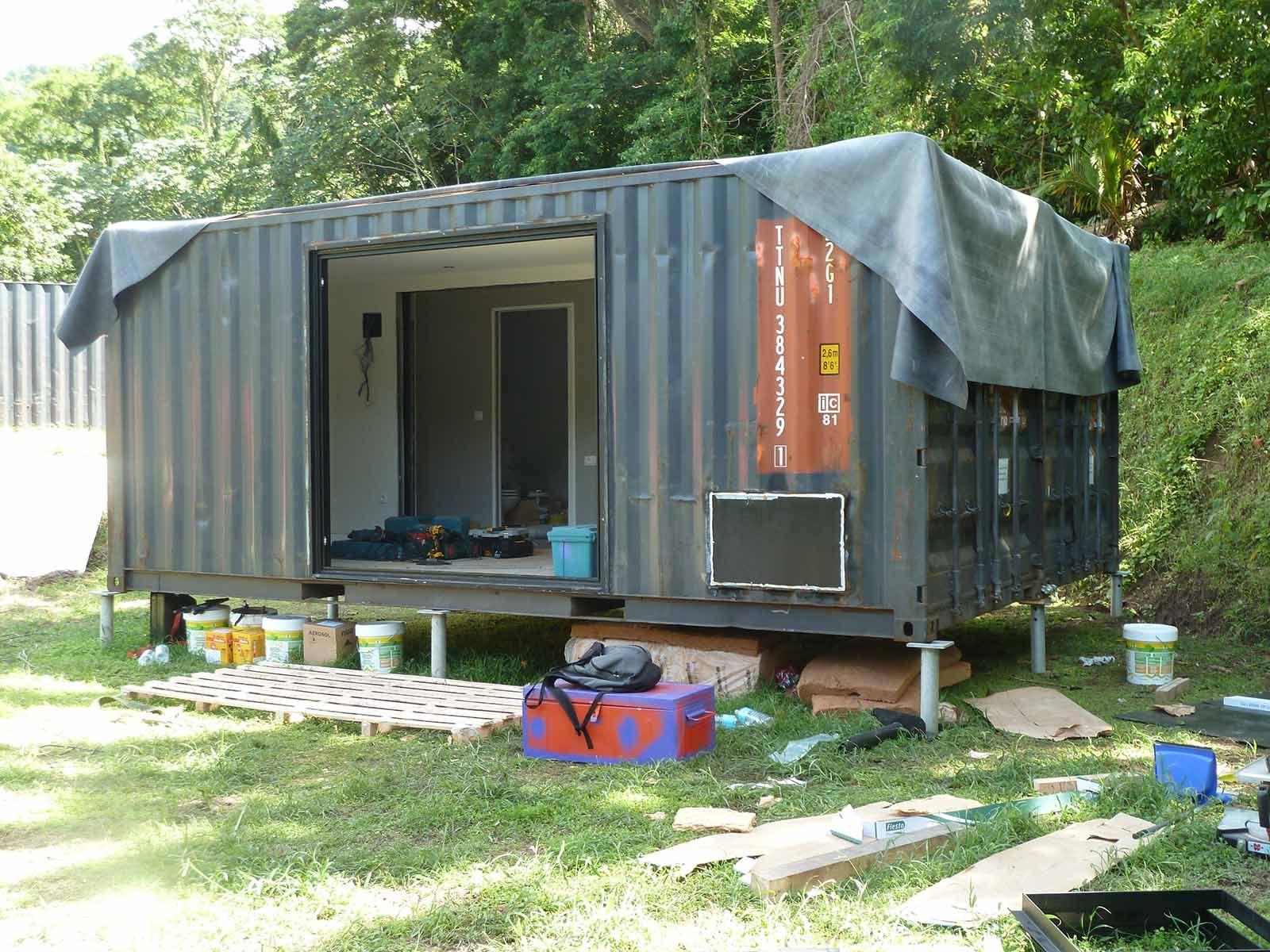 Resultado de imagen de casas en contenedores marinos contenedores marinos pinterest - Como hacer una casa con contenedores maritimos ...