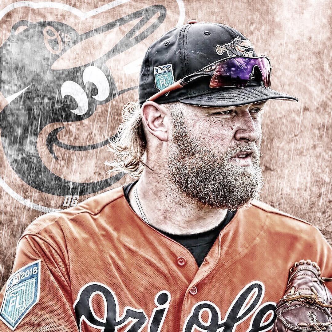 Welcome To Birdland Andrew Cashner Orangespring Andrewcashner Baltimore Orioles Baltimore Orioles Baseball Orioles Baseball Baseball Wreaths