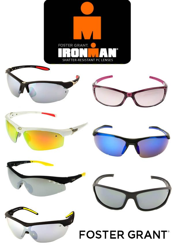33e0081d920 Ironman Sunglasses by Foster Grant.