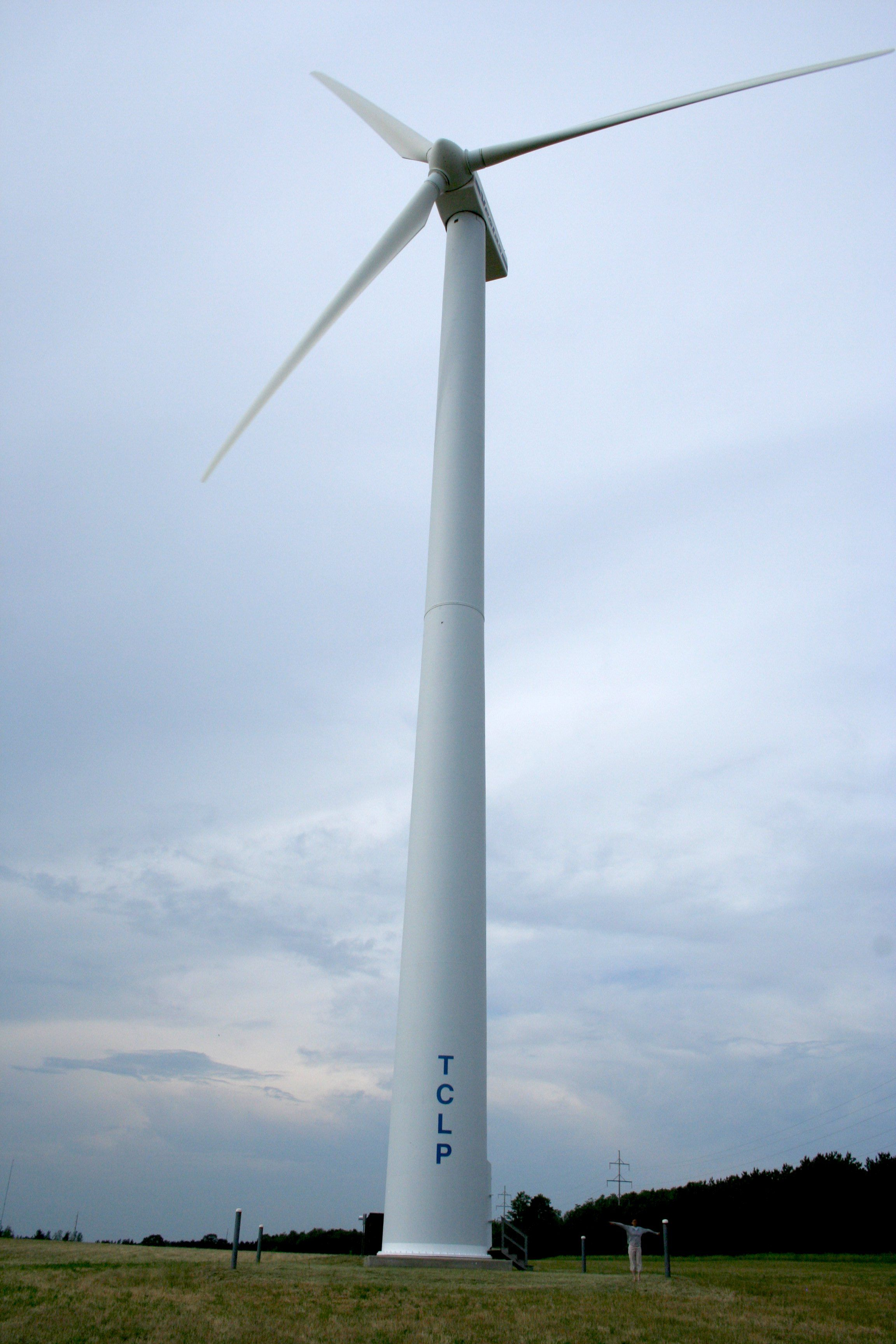City Wind Turbine I think wind power has a larger future than