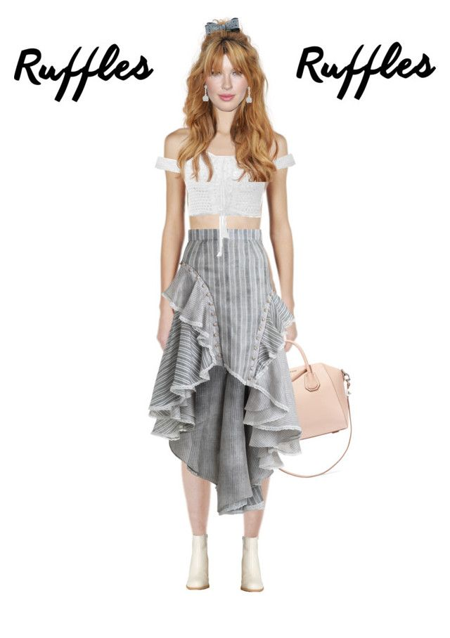 """""""Untitled #48"""" by emgy ❤ liked on Polyvore featuring Givenchy, Zimmermann and MM6 Maison Margiela"""