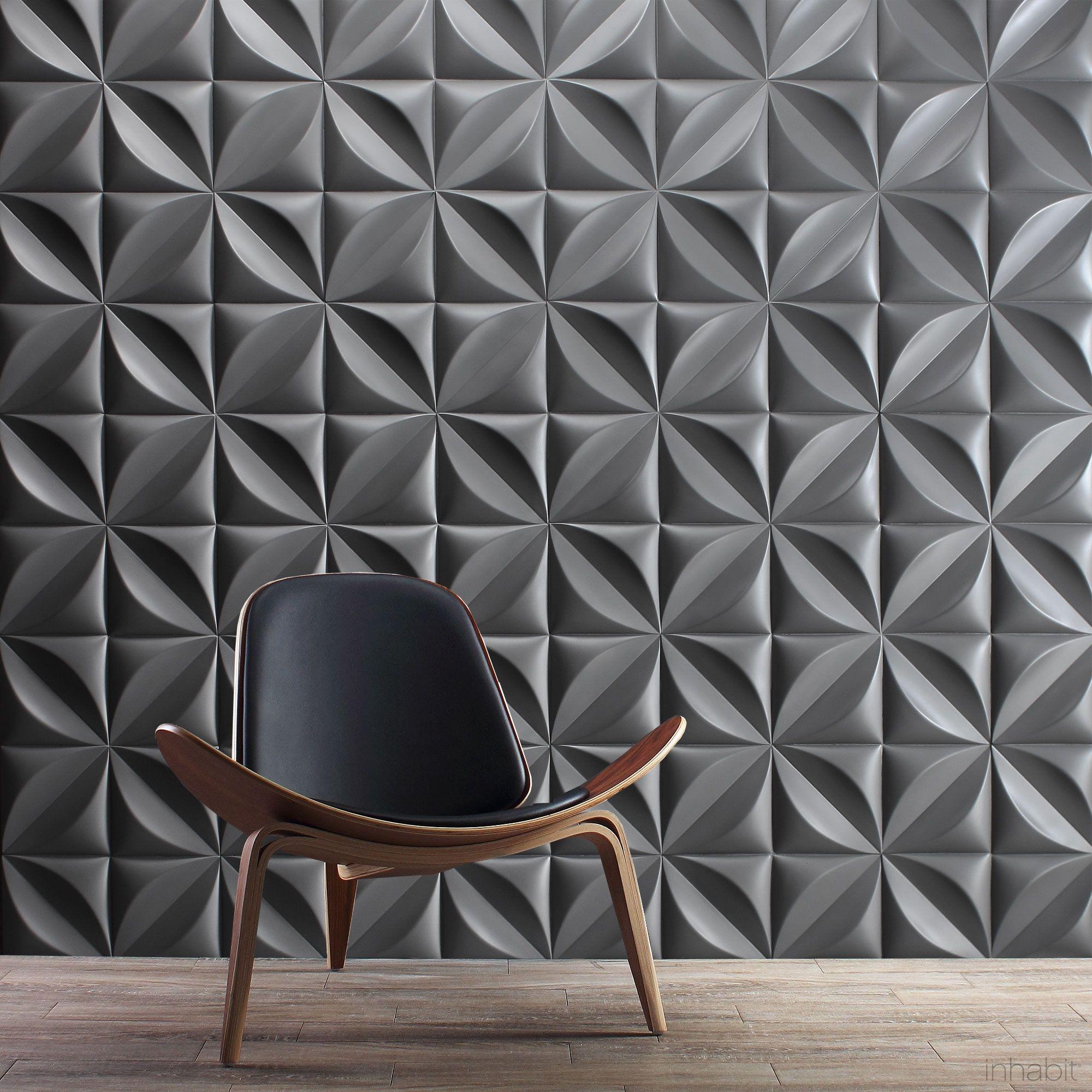Chrysalis Cast Architectural Concrete Tile Natural Wall Tiles Design 3d Wall Tiles Concrete Tiles