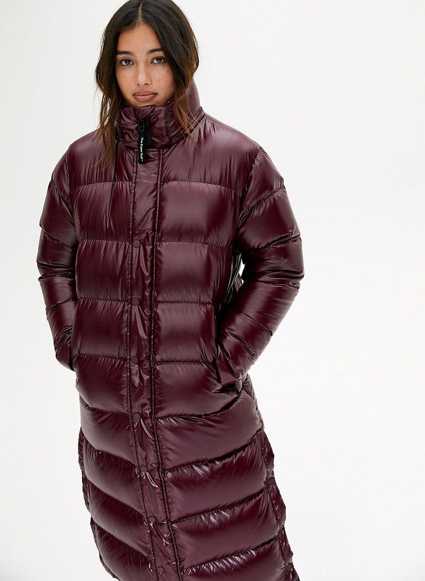 The Super Puff Long Puffer Jacket Women Super Puff Long Puffer Jacket Style [ 1147 x 840 Pixel ]
