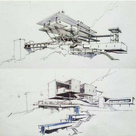 Pin Von Benjamin Börger Auf Architektur Croquis Architecture