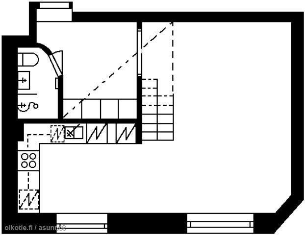 41m² Viipurinkatu 6, 00510 Helsinki Kerrostalo yksiö myynnissä | Oikotie 9852513