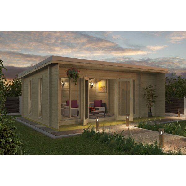 Goldston 21 x 15 Ft. Tongue and Groove Summer House