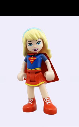 New. SUPERGIRL 41232 Lego DC Super Hero Girls MiniFigure