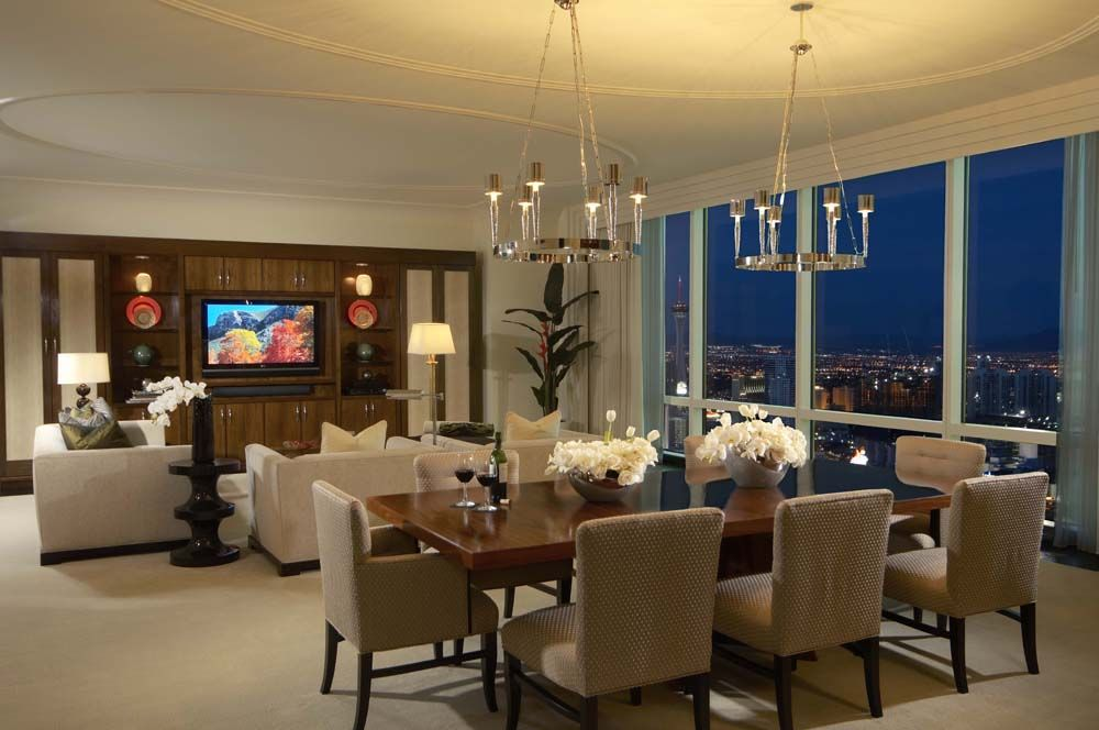 Three Bedroom Penthouse Suite At Trump Las Vegas  Las Vegas Beauteous 3 Bedroom Suite Vegas Design Inspiration