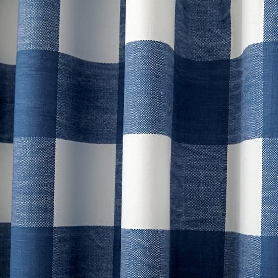 Blue Buffalo Check 96 Blackout Curtain Reviews Crate And