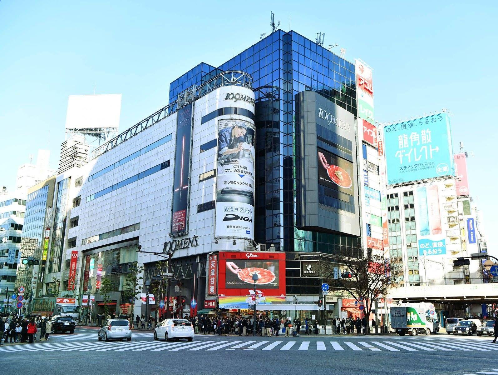 Shibuya mens fashion department store, Shibuya 109 MENS #japankuru #shibuya #fashion #109mens #tokyo #東京 #渋谷 #ファッション #ショッピング