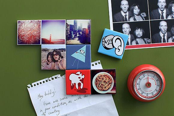 "Your photos printed on ceramic tile. 2"" up to 12"""