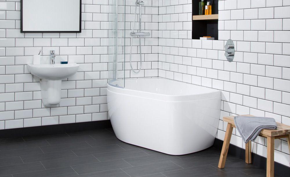 Profile Showerbath Bathroom Bath Standing Shower