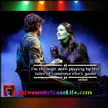 When its your game, you create the rules. #gamechange #newrules #wicked  http://ow.ly/i/alLgM  http://BetweenMyStageLife.com