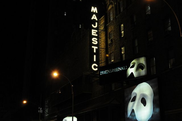 New York City - Majestic Theatre on Broadway...home of Phantom of the Opera.  One of my most cherished memories