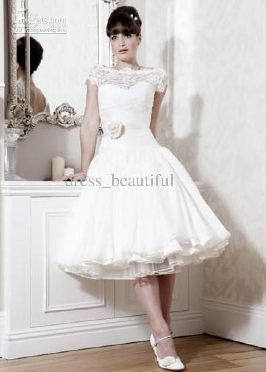 Short A-Line Wedding Dresses