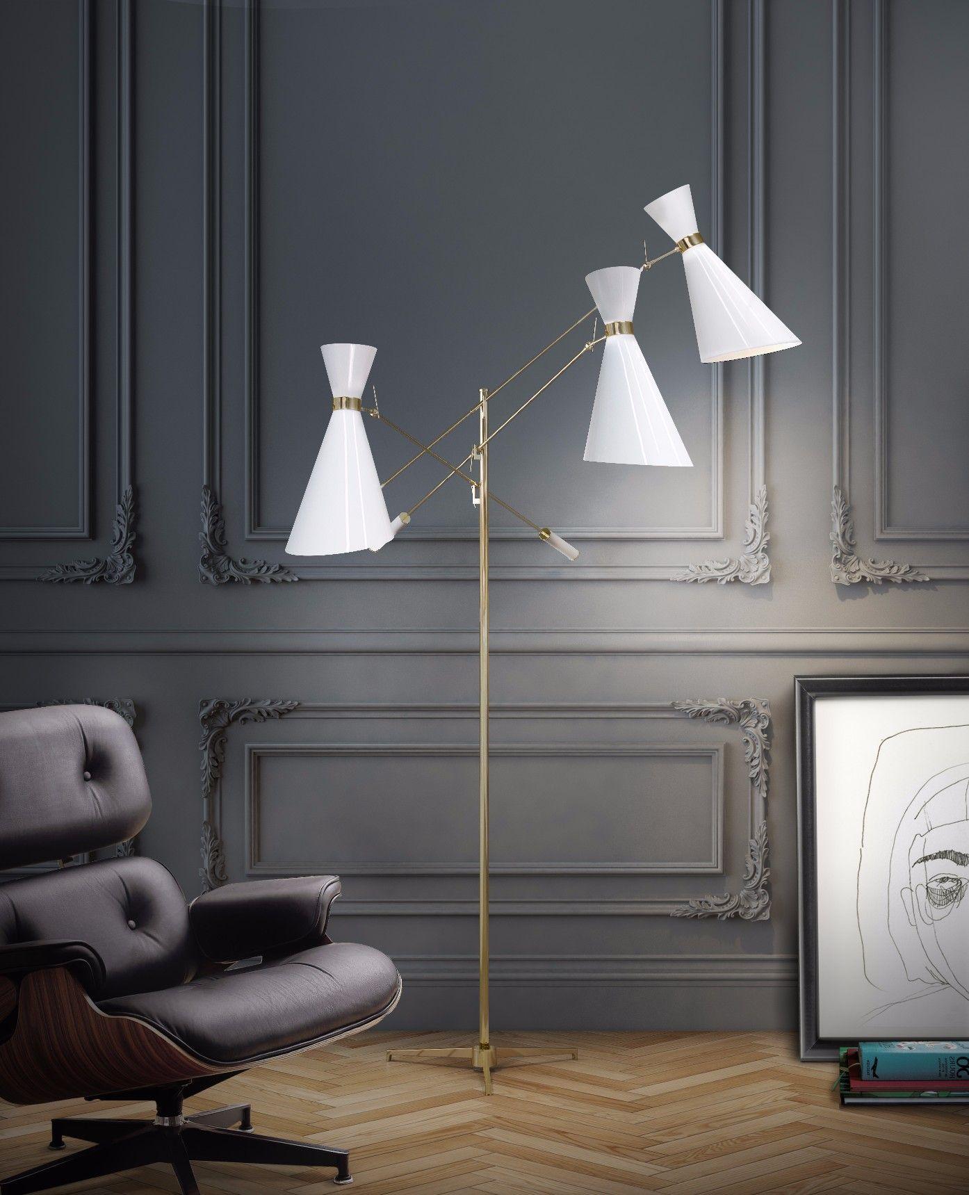 Stanley Vintage Floor Lamp | Design D\'Illuminazione Moderno ...