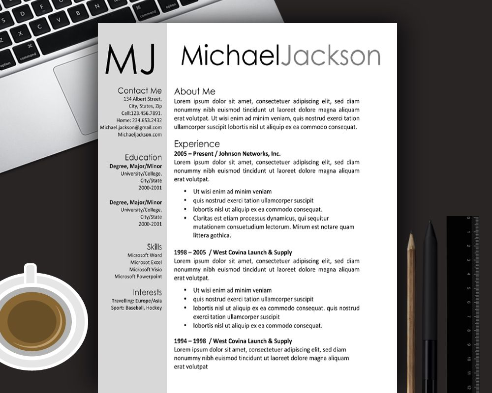 resume template word | Resume templates | Pinterest