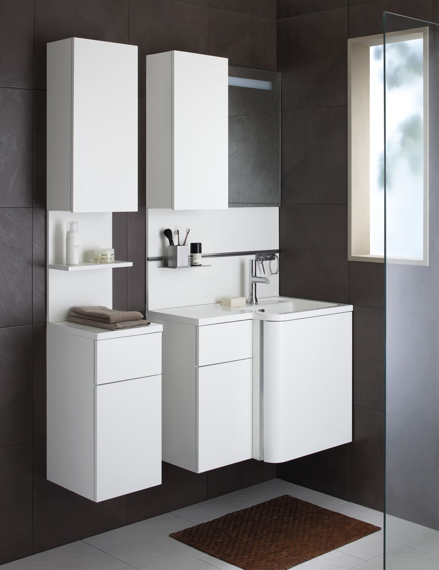 meuble bump sanijura bathroom Pinterest