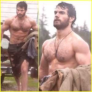 Henry Cavill on the set of the new 'Man of Steel' 2013. SUPERMAN, heck yes! C...