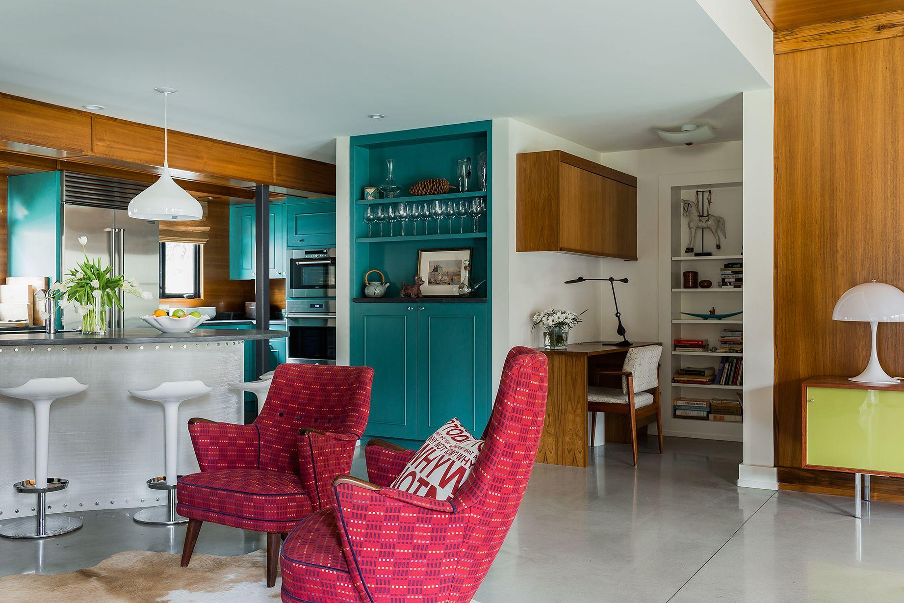 Lincoln kitchen by Annie Hall Interiors #midcenturymodern   AHI ...