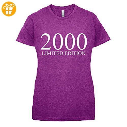2000 Limierte Auflage / Limited Edition - 17. Geburtstag - Damen T-Shirt -