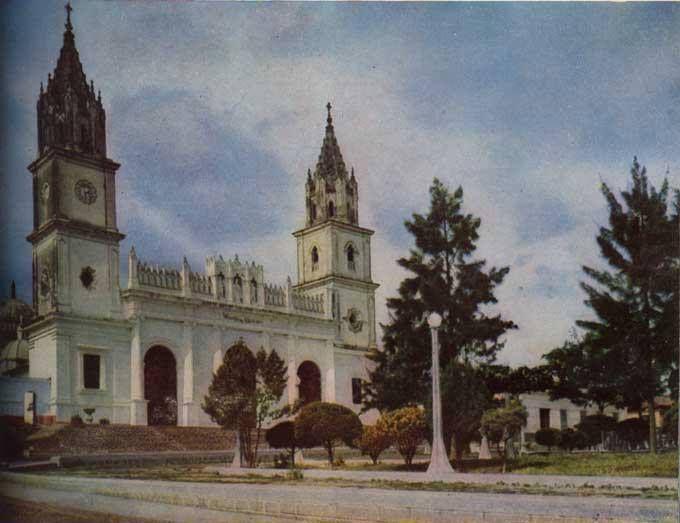 Basilica de la Consolacion, Tariba - Tachira 1950s