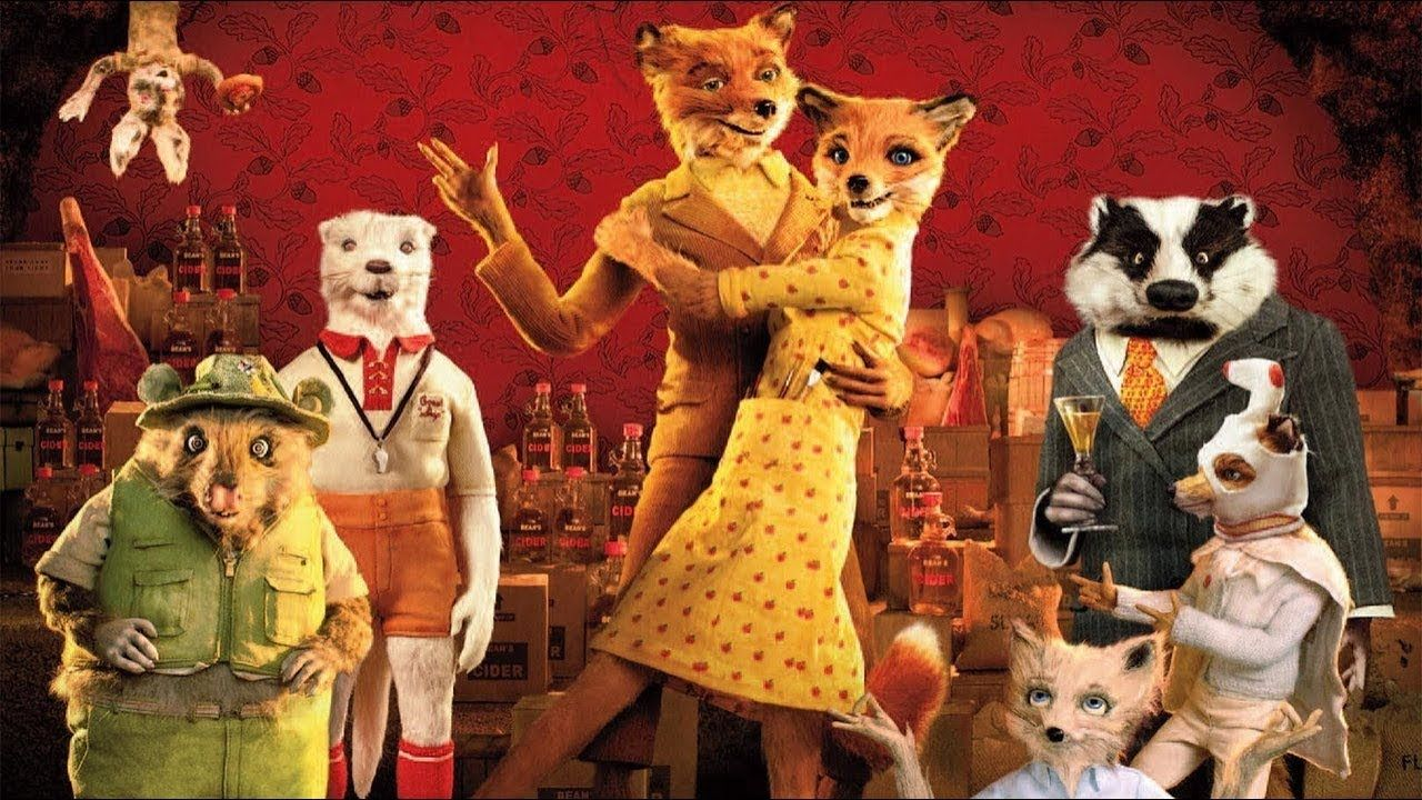 Fantastic Mr Fox 2009 Animation Movies For Kids Fantastic Mr Fox Animated Movies Animated Movies For Kids