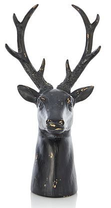 stag head #woodland  #trends #animals #cute #winter #home #yourhomemagazine #decorating #fox #owl #squirrel
