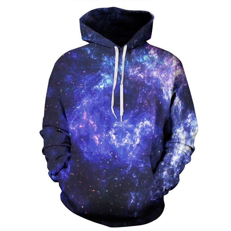 3D Galaxy Space Digital Printed Oversize Hoodies Sweatshirt