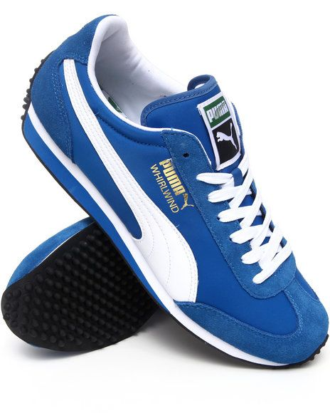 9532bef95af Puma Men Blue Whirlwind Classic Sneakers | cheryl Daley | Sneakers ...