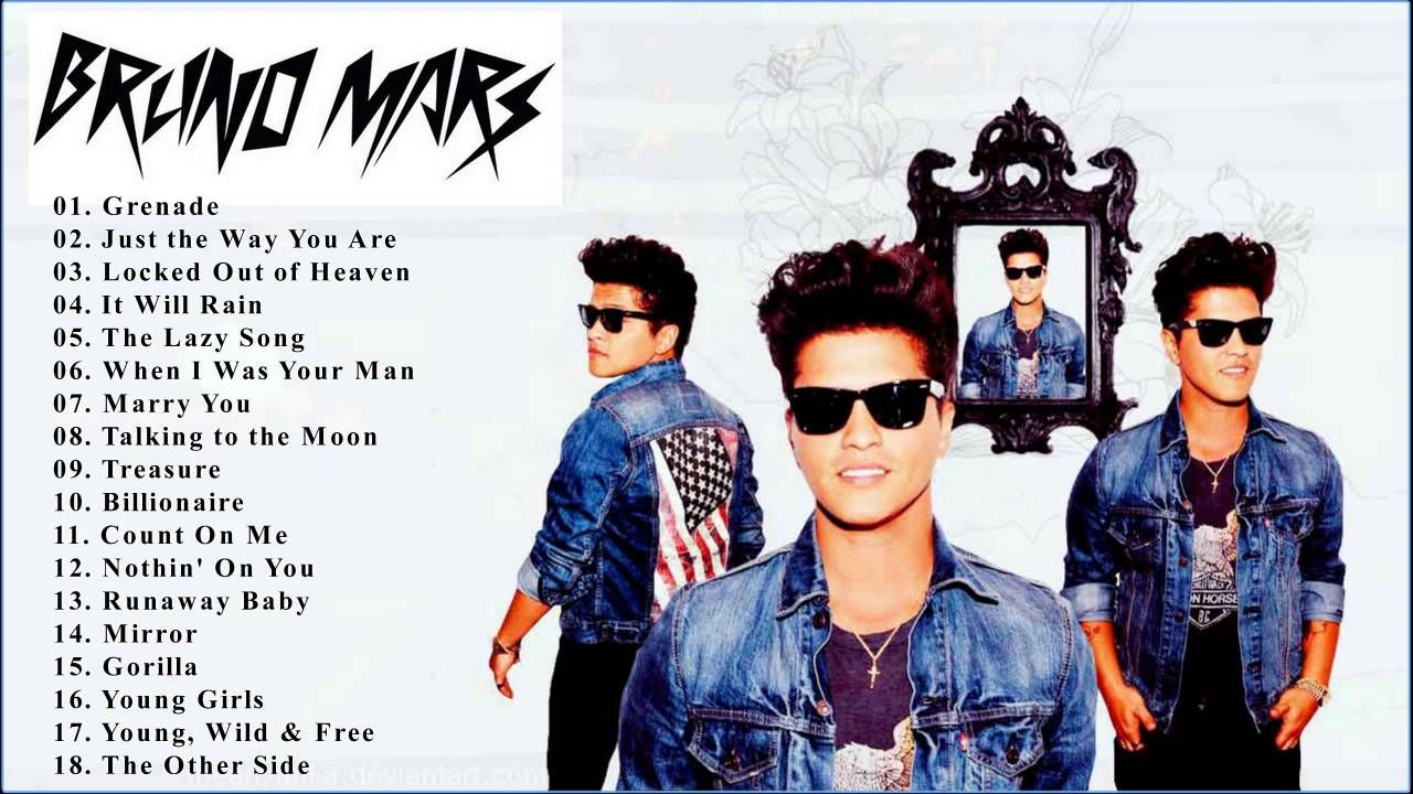 Bruno Mars Greatest Hits 2016 - Best Of Bruno Mars