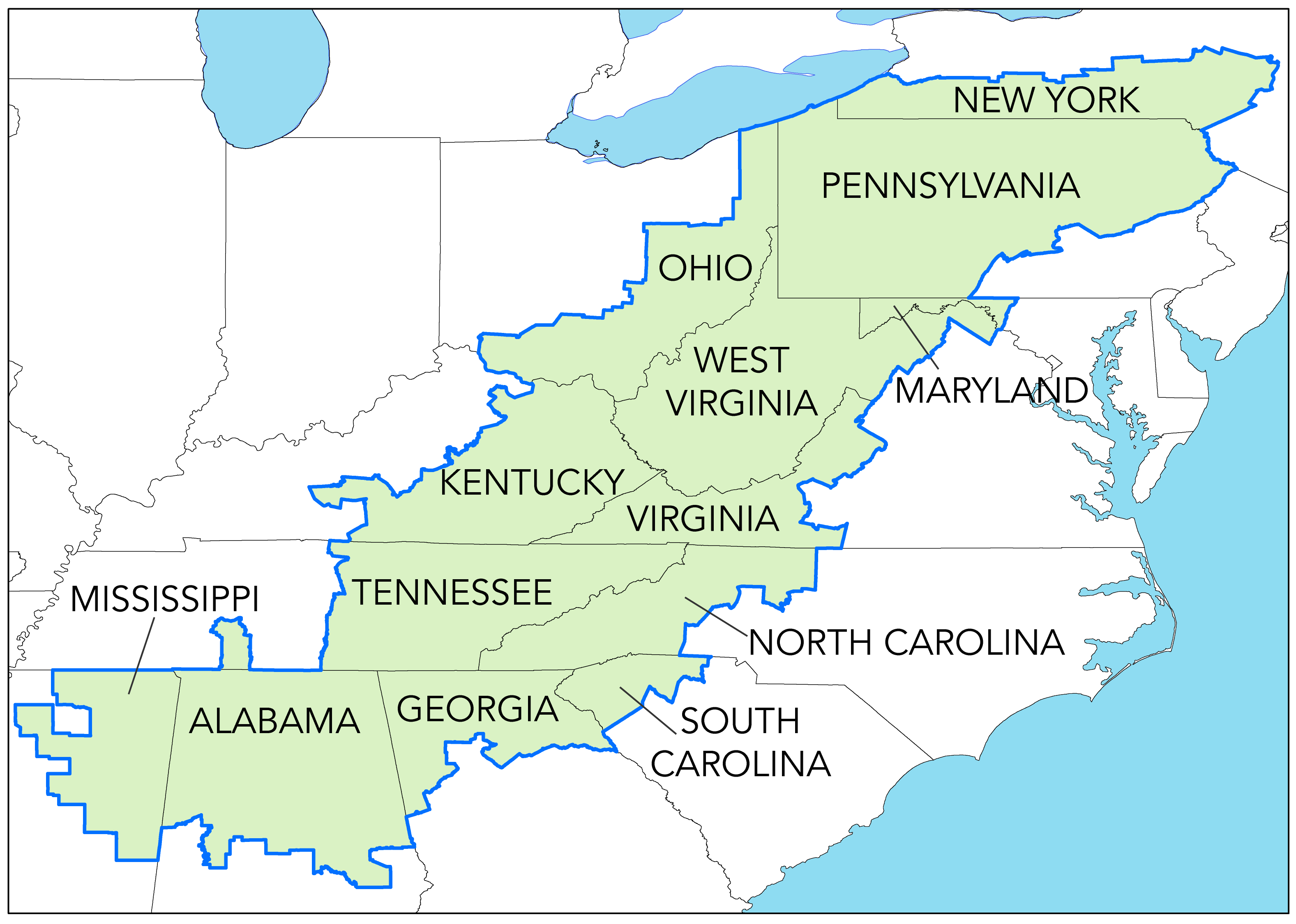 Appalachia Is A Geographic Region That Stretches Along The