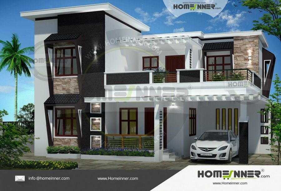 2470 sq ft 4 bedroom modern contemporary house design