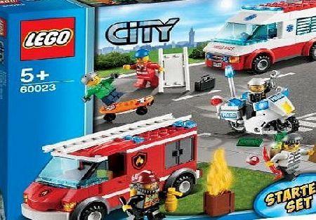 Lego 60023 City Starter Set No Description Barcode Ean
